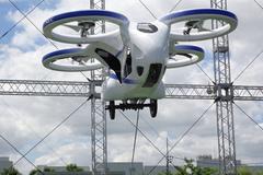 Nhật Bản thử nghiệm mẫu xe bay mới nhất