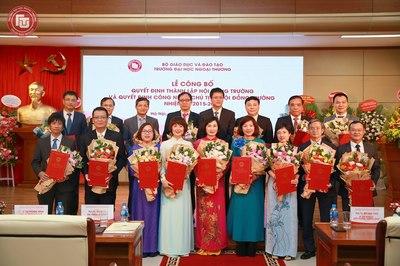 Thành lập Hội đồng trường và công nhận chủ tịch Trường ĐH Ngoại thương