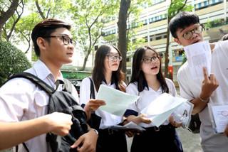 University entrance exam floor at record low