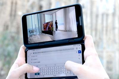 Hé lộ smartphone màn hình gập của LG