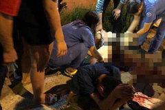 Va chạm giao thông, tài xế rút dao đâm trọng thương tài xế trong đêm