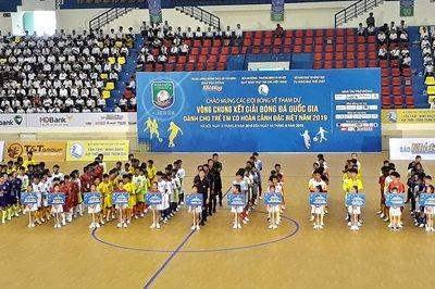 16 đội dự VCK Giải bóng đá dành cho trẻ em có hoàn cảnh đặc biệt