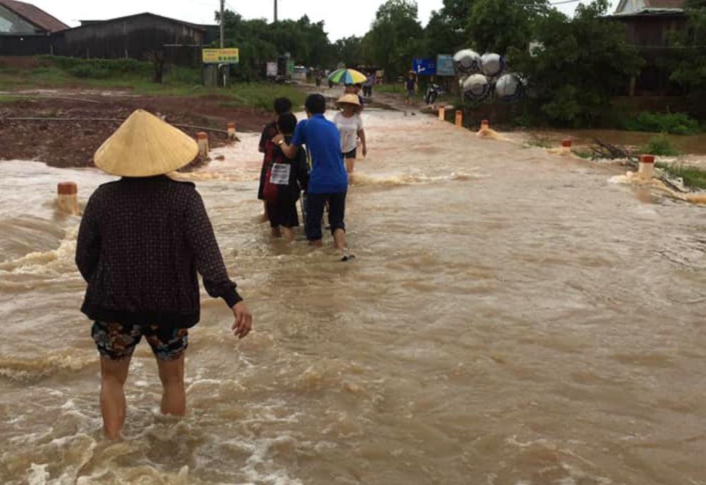 mưa lũ,Đắk Lắk,lũ quét