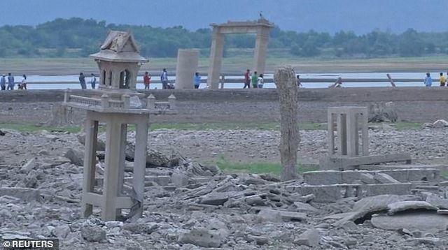 Ngôi đền thiêng mất tích suốt 20 năm bất ngờ 'hiện hình'