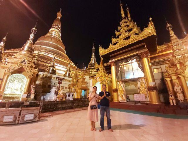 Độc đáo ngôi chùa dát 90 tấn vàng, gắn nghìn viên kim cương đắt giá ở Myanmar