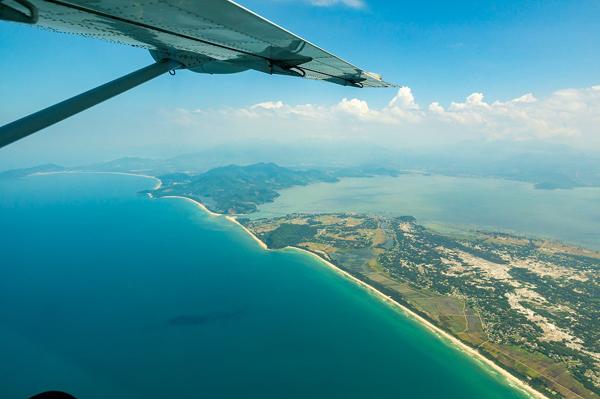 Ngắm Đà Nẵng, Huế từ thủy phi cơ