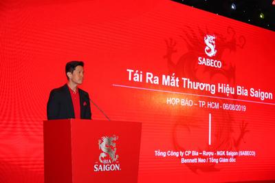 Sabeco tái ra mắt thương hiệu Bia Sài Gòn