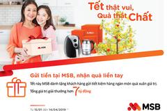 MSB dành 7 tỷ đồng tri ân khách hàng mùa Tết