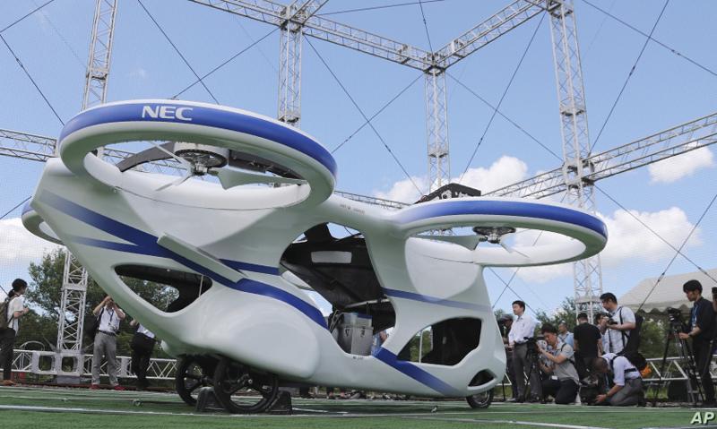 Xe bay,xe bay tự hành,Taxi bay