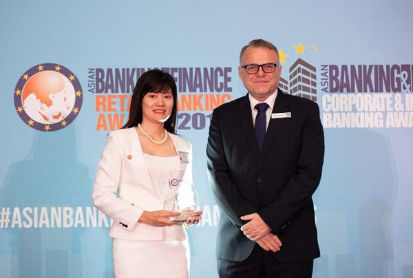 BIDV nhận giải Ngân hàng SME tiêu biểu tại Việt Nam 2019