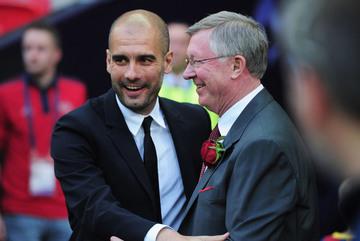 """Man City mơ """"hat-trick"""", Pep thách thức Sir Alex"""
