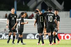 U18 Thái Lan bị U18 Singapore cầm chân trận ra quân