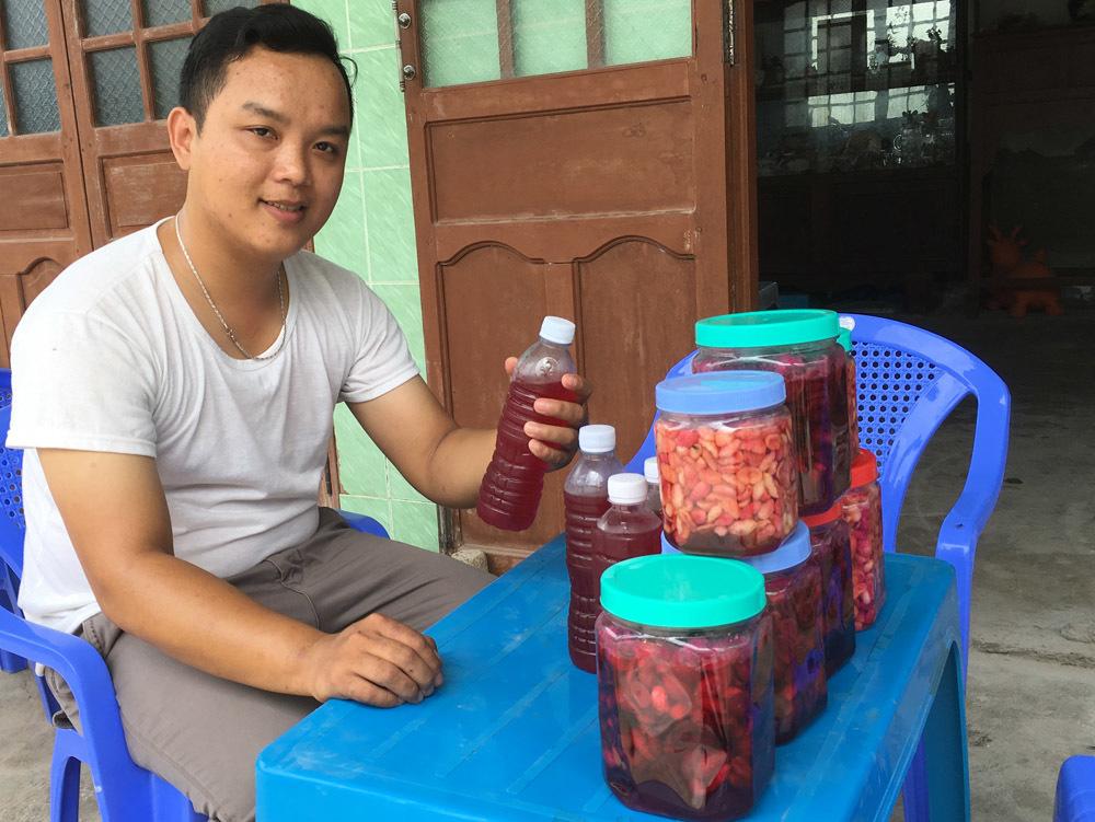 Tiền Giang,Cây trân chau