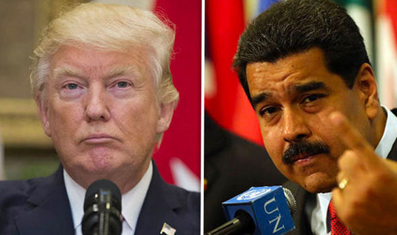 Venezuela,Mỹ,cấm vận,Donald Trump