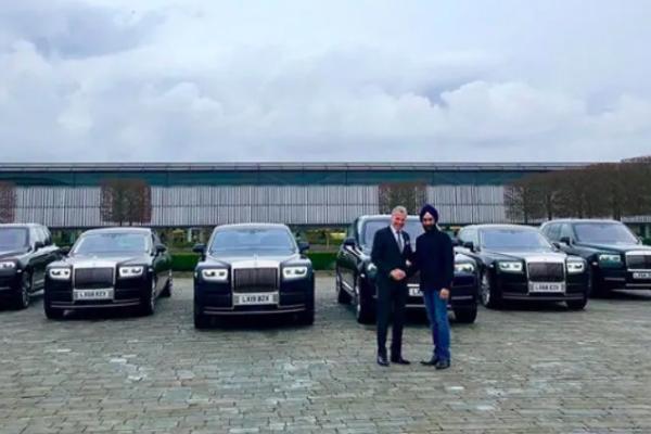 7 chiếc Rolls-Royce cho 7 ngày, đẳng cấp tỷ phú gốc Ấn