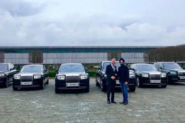 Rolls-Royce,tỷ phú Ấn Độ,tỷ phú Reuben Singh