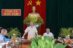 Thường trực Ban Bí thư làm việc với Tỉnh ủy Kon Tum