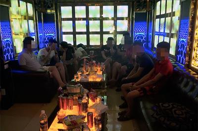 Hàng chục dân chơi phê ma tuý trong nhà hàng Lộc Phát ở Sài Gòn
