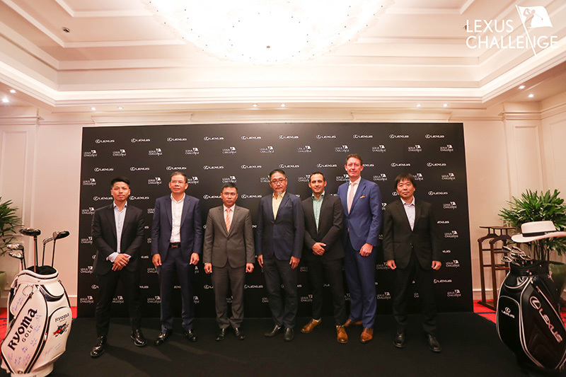 Giải thưởng cao kỷ lục tại giải golf Lexus Challenge 2019