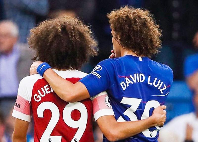 Arsenal,Chelsea,David Luiz