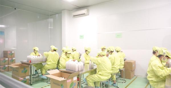 Nhà máy đạt chuẩn GMP của Medino chính thức đi vào hoạt động
