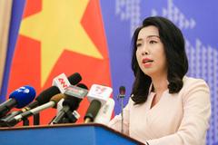 Tàu Trung Quốc dừng hoạt động ở vùng đặc quyền kinh tế của Việt Nam
