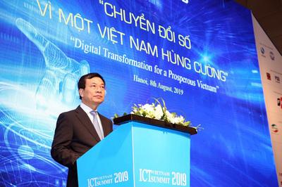 Toàn văn phát biểu của Bộ trưởng TT&TT Nguyễn Mạnh Hùng tại Vietnam ICT Summit 2019
