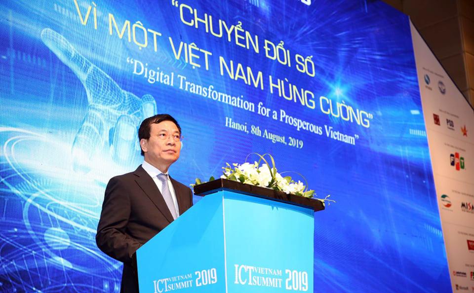 Toàn văn phát biểu,Bộ trưởng,TT&TT,Nguyễn Mạnh Hùng,Vietnam ICT Summit