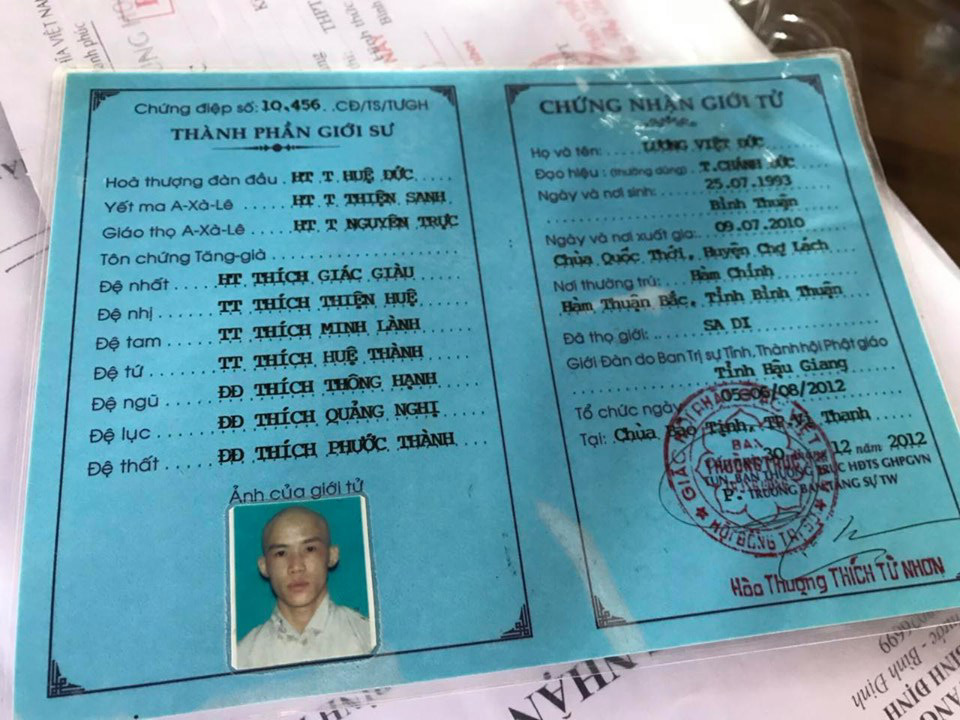 Thầy tu đánh thậm tệ bé trai 11 tuổi nghi sử dụng giấy tờ giả