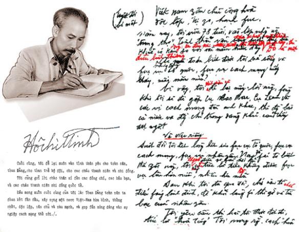 Khoảnh khắc Tổng bí thư Lê Duẩn chứng kiến Bác Hồ viết 'Mấy lời để lại'