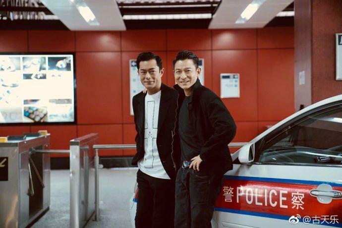 Cổ Thiên Lạc đối đầu Lưu Đức Hoa trong siêu phẩm xã hội đen Hong Kong