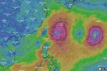 TQ cảnh báo đỏ trước đòn tấn công của siêu bão