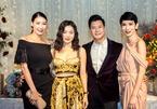 Lệ Quyên, Hà Kiều Anh rạng rỡ mừng sinh nhật Quang Dũng tuổi 43