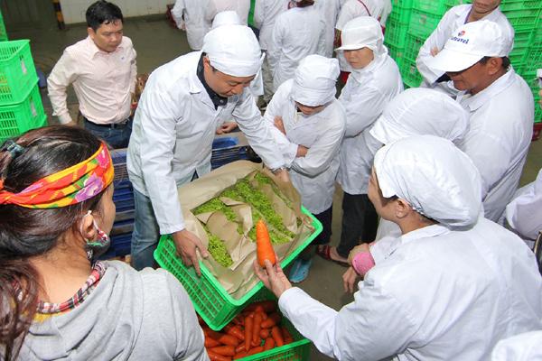thực phẩm sạch,siêu thị,chuỗi cung ứng