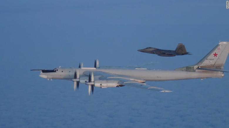 Mỹ,Nga,Canada,NORAD,Alaska,Bắc Mỹ,máy bay,chiến đấu,quân sự,quân đội,không phận,ngăn chặn,can thiệp