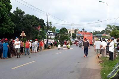 Bé gái lớp 6 ở Quảng Trị bị xe tông tử vong đúng ngày sinh nhật