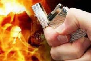 Nghi vấn chồng tưới xăng đốt vợ vì con khóc ở Nghệ An