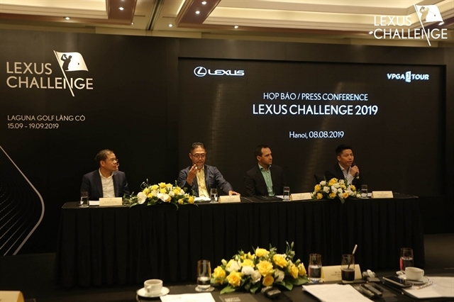 Lexus Challenge 2019 to tee off at Laguna Lang Co Golf Club
