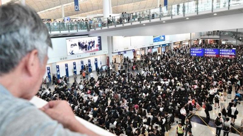 Trung Quốc,Hong Kong,biểu tình Hong Kong,sân bay Hong Kong