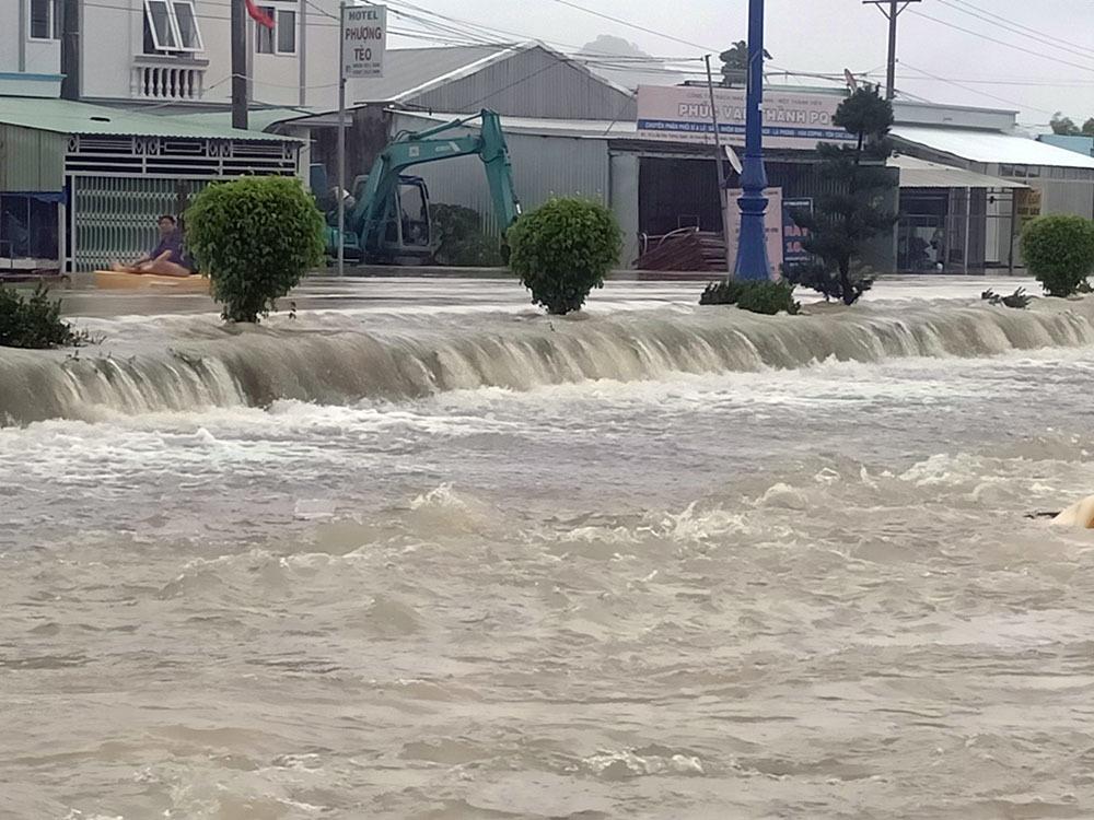 Phú Quốc,Ngập lụt,mưa lũ