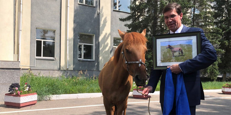 Mỹ,Bộ trưởng Quốc phòng,Mông Cổ