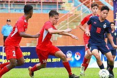 U18 Thái Lan thua sốc trước U18 Campuchia