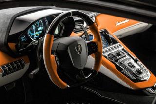 Làm đẹp nội thất siêu xe Lamborghini Aventador mui trần tốn ngang mua ô tô mới