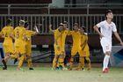 """U18 Australia """"nghiền nát"""" U18 Singapore"""