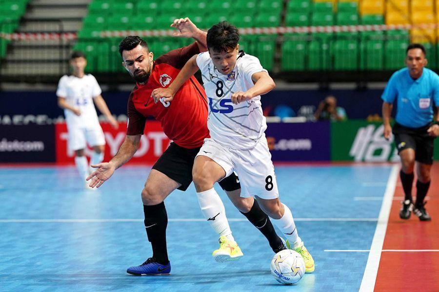 Thái Sơn Nam cầm chắc vé tứ kết giải Futsal các CLB châu Á