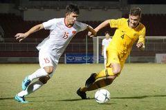 U18 Myanmar tuột vé chung kết vào tay U18 Australia