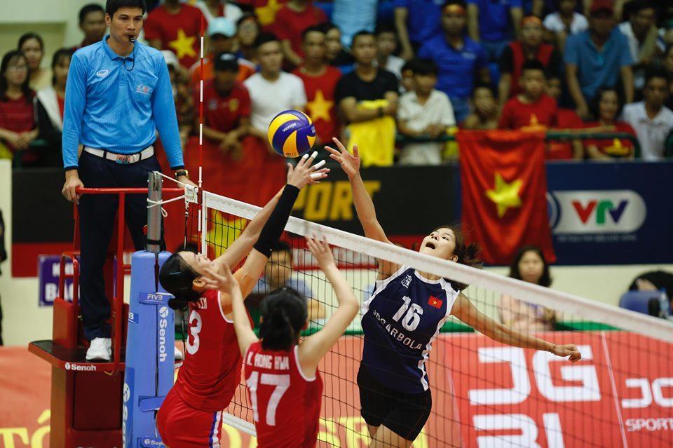 Lội ngược dòng trước Triều Tiên, Việt Nam vào chung kết VTV Cup 2019