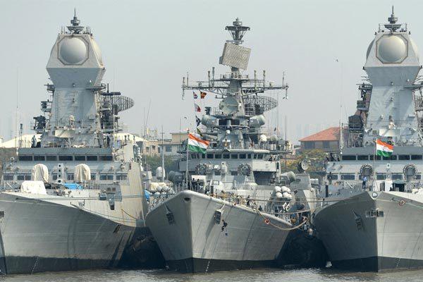 Ấn Độ,Pakistan,hải quân,tàu chiến