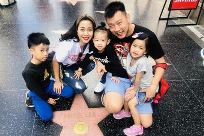Ốc Thanh Vân không tiếc tiền đưa cả gia đình đi du lịch hạng sang