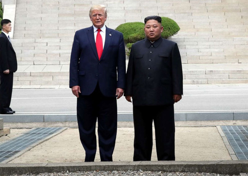Triều Tiên,Mỹ,tâm thư,Kim Jong Un,Donald Trump